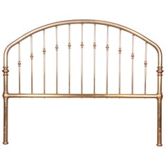 Midcentury Hollywood Regency Brass King Size Headboard