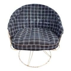 Mid-Century Homecrest Wrought Iron Patio Chair