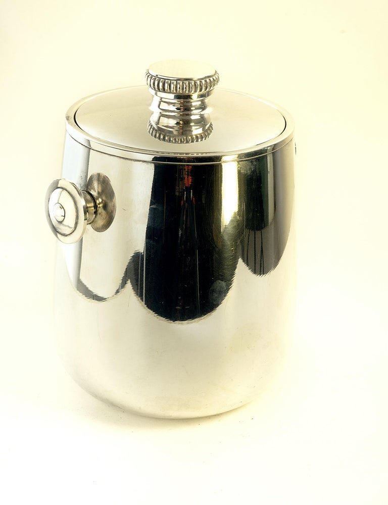 Mid Century Ice Bucket by Macabo Milano, Italy For Sale 2