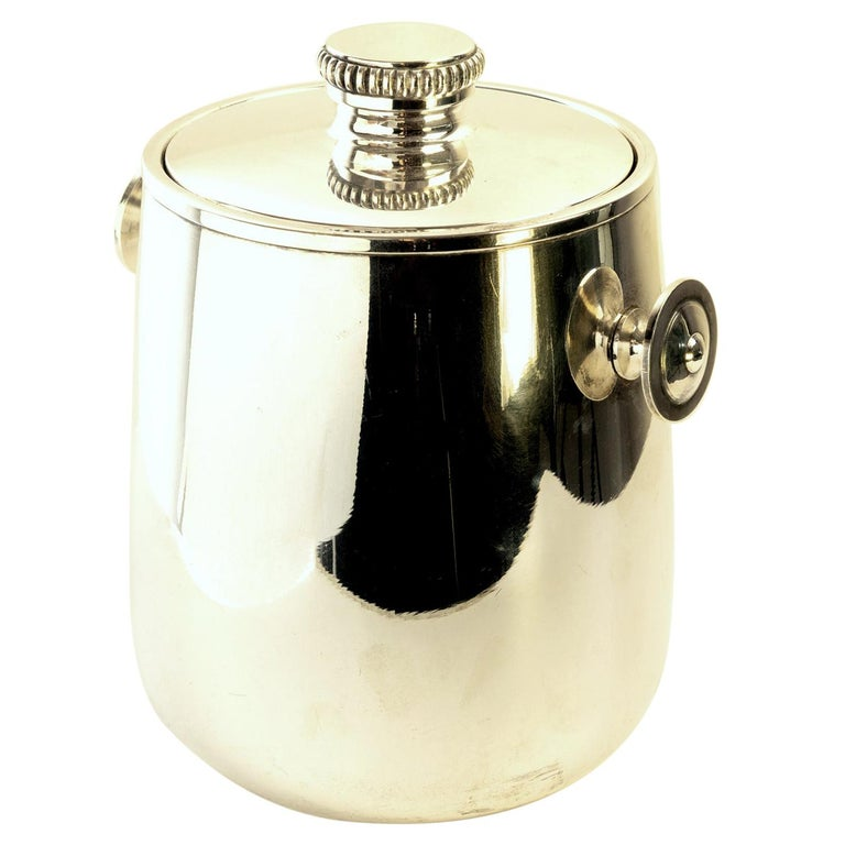 Mid Century Ice Bucket by Macabo Milano, Italy For Sale