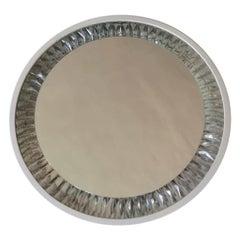 Mid Century Illuminated Mirror