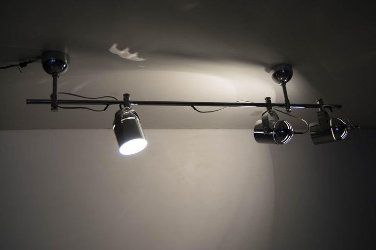 Mid-Century Industrial Ceiling Light by Stanislav Indra for Lidokov, 1980s For Sale 2