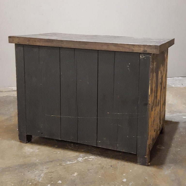 Mid-century Industrial Chest of Drawers For Sale 3