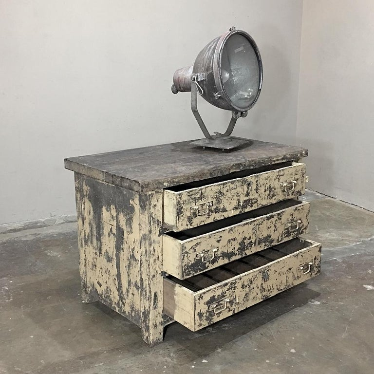 Mid-Century Modern Mid-century Industrial Chest of Drawers For Sale