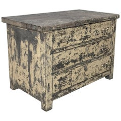 Mid-Century French Industrial Commode