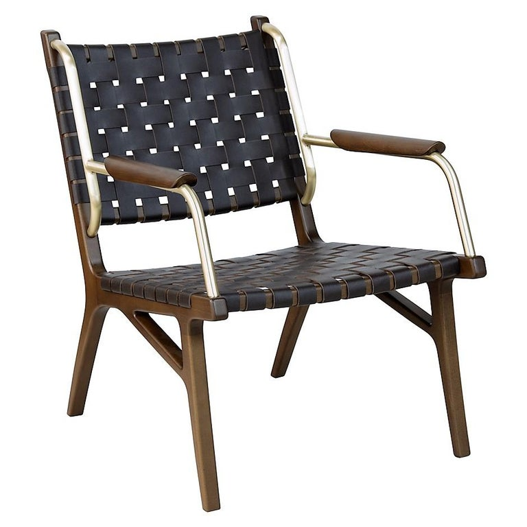 Mid-Century Inspired Lounge Chairs, Set of 2 For Sale 3