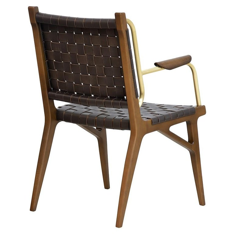 Mid-Century Inspired Lounge Chairs, Set of 2 For Sale 1