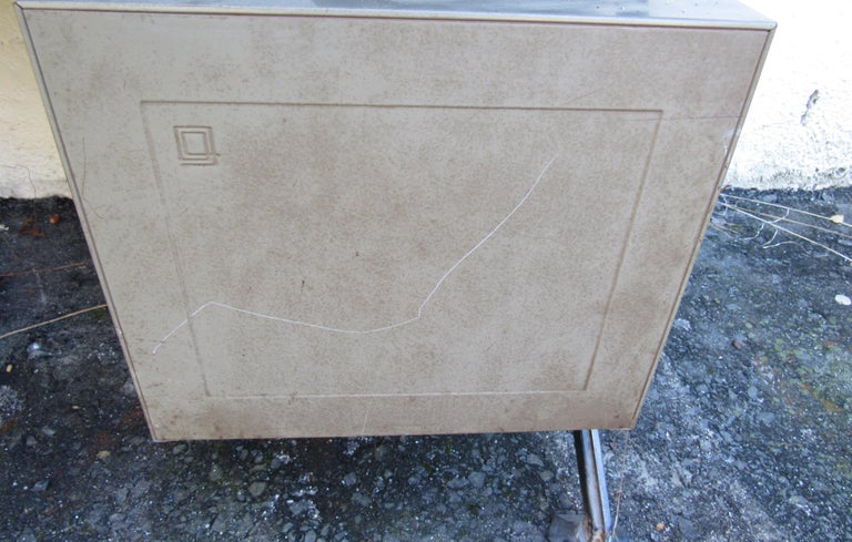 Midcentury Italian Arco Desk by BBPR for Olivetti Synthesis For Sale 1