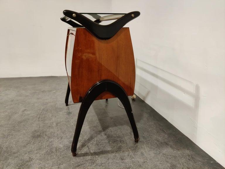 Midcentury Italian Bar Cabinet, 1960s For Sale 4