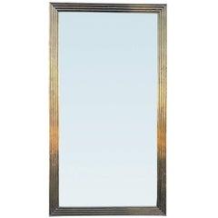 Mid-20th Century Italian Brass Framed Mirror