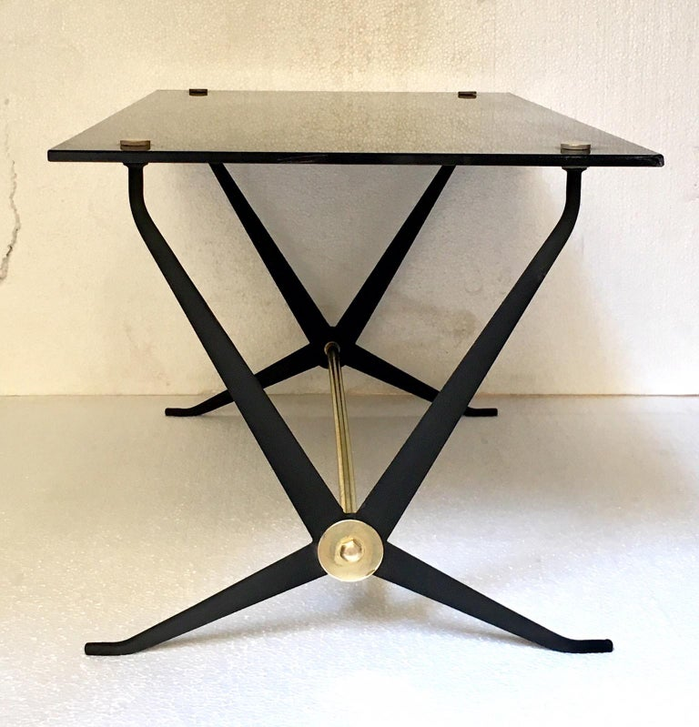 Midcentury Italian Coffee or Cocktal Table by Angelo Ostuni For Sale 5