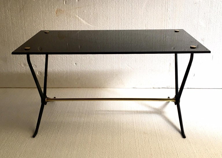 Lacquered Midcentury Italian Coffee or Cocktal Table by Angelo Ostuni For Sale