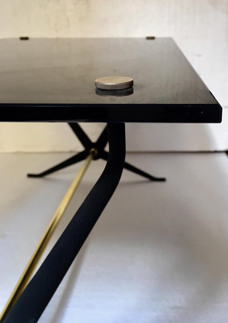 Midcentury Italian Coffee or Cocktal Table by Angelo Ostuni For Sale 2