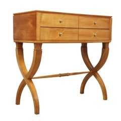 Midcentury Italian Commode in Solid Cherry