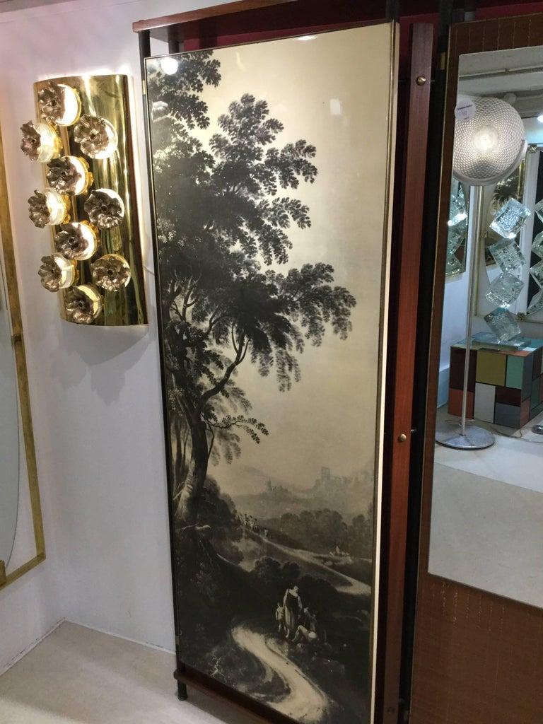 20th Century Midcentury Italian Entrance Wardrobe For Sale