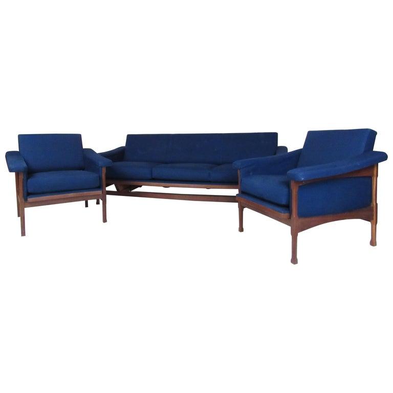 Midcentury Italian Living Room Set For Sale