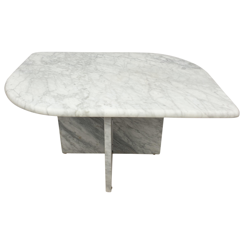 Mid-Century Italian Marble Coffee Table, 1980s
