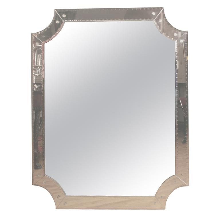 Mid Century Italian Mirror For Sale