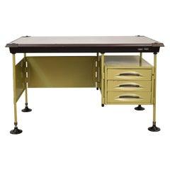 Midcentury Italian Modernist Desk Spazio by Studio BBPR for Olivetti, circa 1950