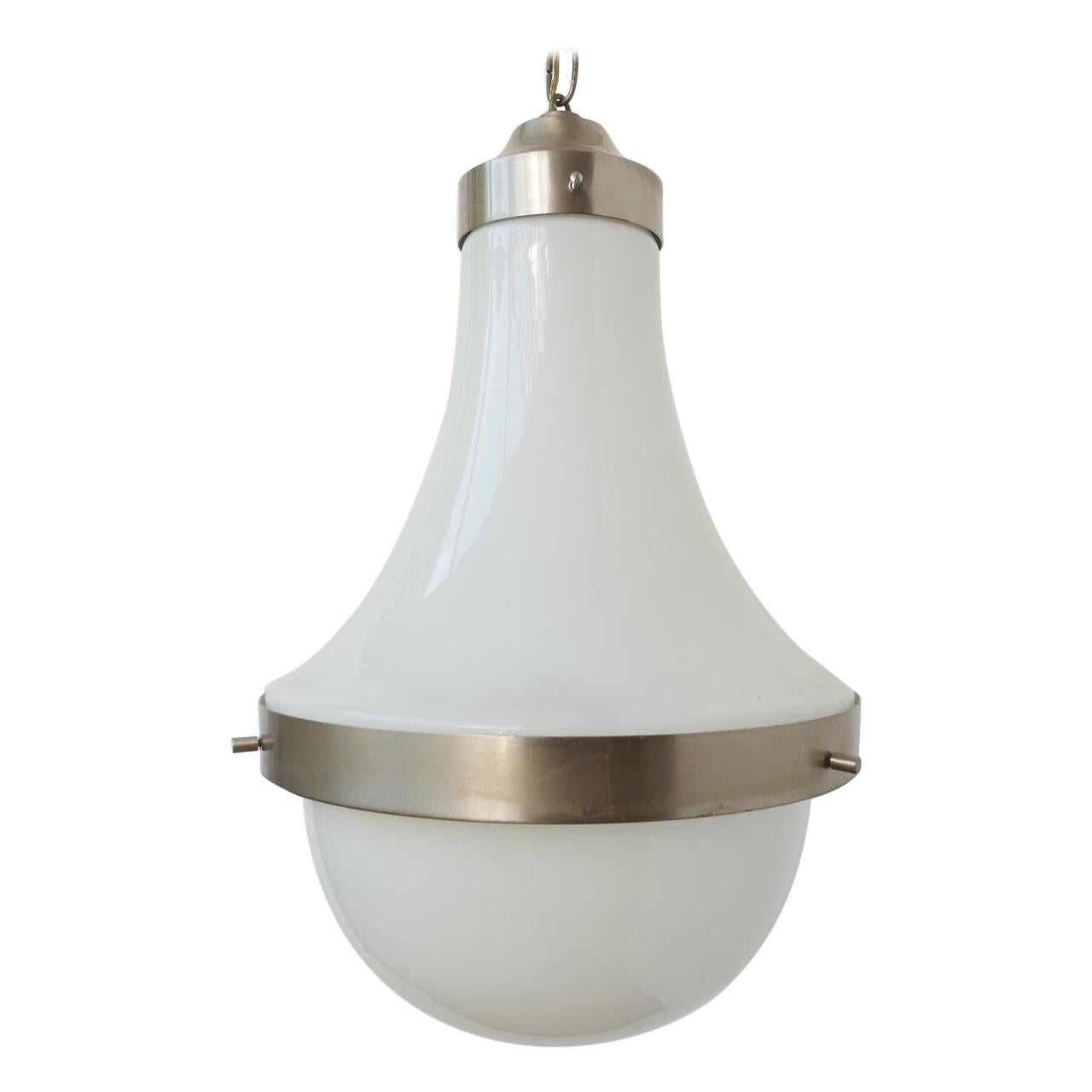 Midcentury Italian Pendant Lamp by Sergio Mazza