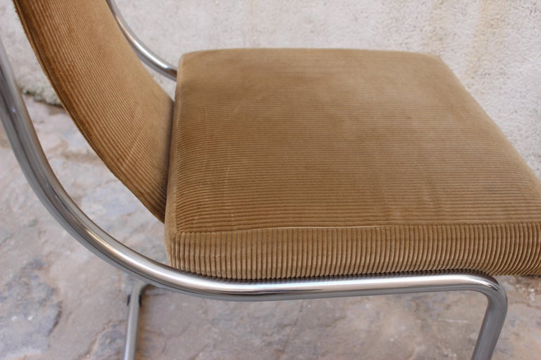 Mid-20th Century Mid Century Italian Set of Four Chairs For Sale
