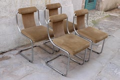 Mid Century Italian set of Four Chairs