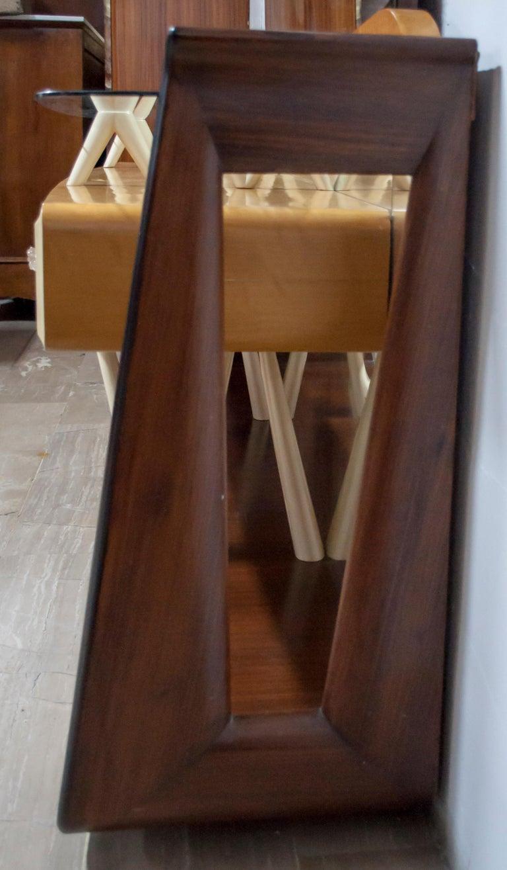 After Osvaldo Borsani Midcentury Italian Sideboard Console Table, 1950s For Sale 5
