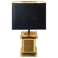 Mid-Century Italian Table Lamp by Willy Rizzo for Lumica
