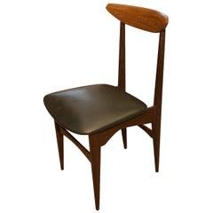 Midcentury Italian Teak Chair, 1960s