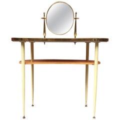 Mid-Century Italian Vanity Table