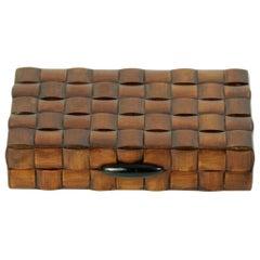 Mid Century Italian Vintage Wood Trinket Box