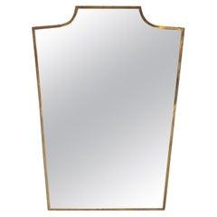 Mid Century Italian Wall Mirror, 1950s