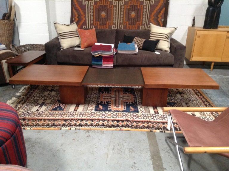 Mid-Century Modern Mid-Century John Keal Extendable Coffee Table For Sale