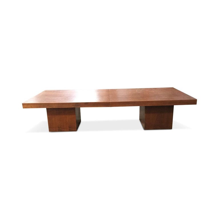 20th Century Mid-Century John Keal Extendable Coffee Table For Sale