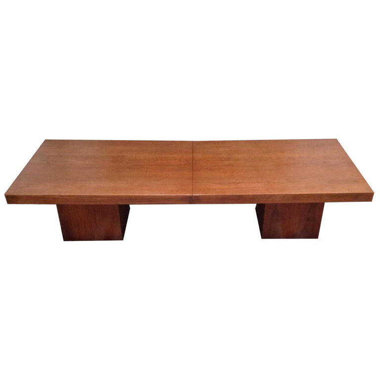 Mid-Century John Keal Extendable Coffee Table For Sale