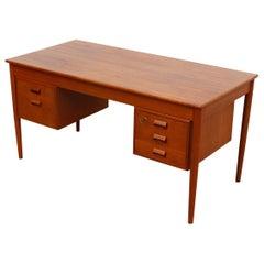 Mid-Century Kai Kristiansen Danish Teak Desk