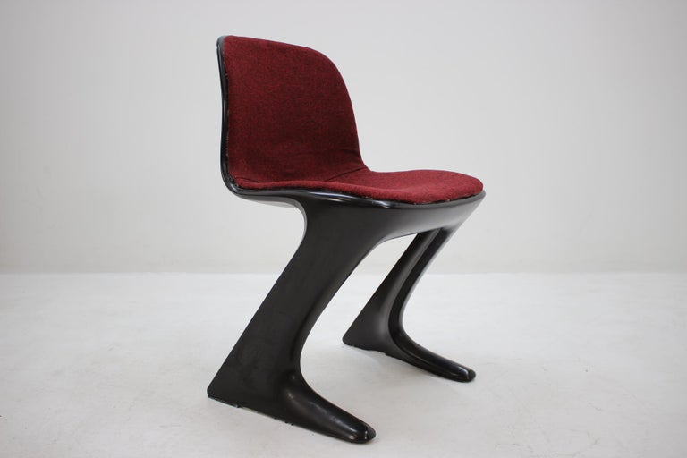 Mid-Century Modern Midcentury Kangaroo Chair Designed by Ernst Moeckl, Germany, 1968 For Sale