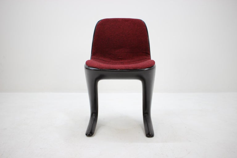 Midcentury Kangaroo Chair Designed by Ernst Moeckl, Germany, 1968 In Good Condition For Sale In Barcelona, ES