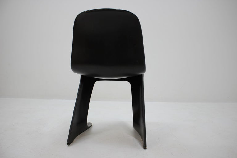Midcentury Kangaroo Chair Designed by Ernst Moeckl, Germany, 1968 For Sale 2