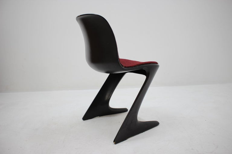 Midcentury Kangaroo Chair Designed by Ernst Moeckl, Germany, 1968 For Sale 3