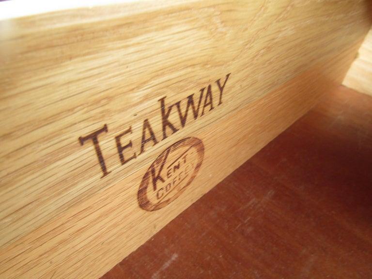 Midcentury Kent Coffey Teakway Bedroom Suite For Sale 2