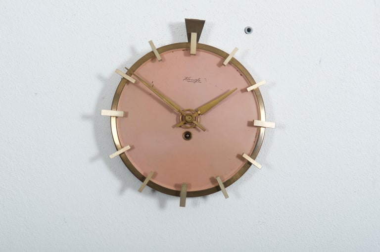 Mid-Century Modern Midcentury Kienzle Wall Clockc For Sale