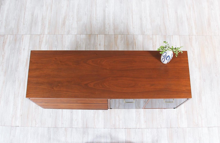 Mid-20th Century Midcentury Lacquered and Walnut Dresser by Merton Gershun