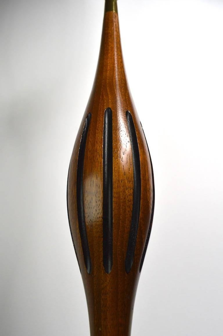 20th Century Mid Century Lamp by Laurel For Sale