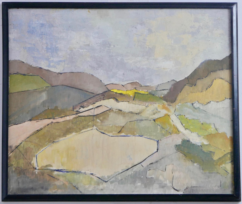 Mid Century Modern Industrial View 20s Original Impressionist ...