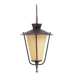 Mid-Century Lantern by Maison Lunel