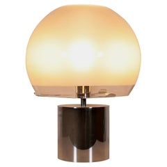 Mid Century Large Table Lamp Designed by L. C. Dominioni Mod. Porcino, 1966