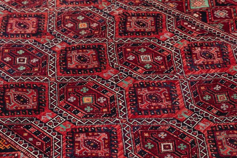 Mid Century Long Afshar Runner For Sale 4