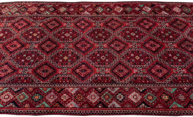 Mid Century Long Afshar Runner For Sale 1