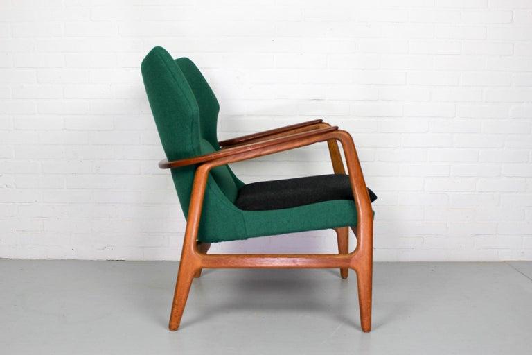 Teak Midcentury Lounge Chair by Aksel Bender Madsen for Bovenkamp, 1960s